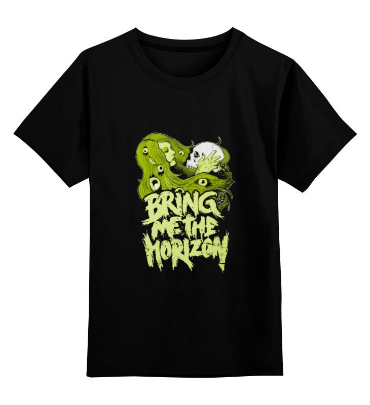 Детская футболка классическая унисекс Printio Bring me the horizon футболка для беременных printio bring me the horizon