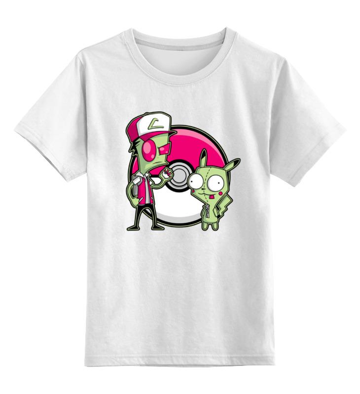 Детская футболка классическая унисекс Printio Захватчик зим (покемон)