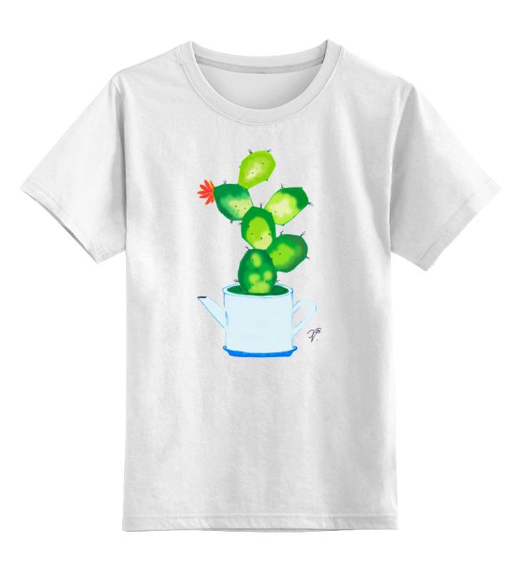 Детская футболка классическая унисекс Printio Домашнее растение растение нолина штамбовая д 17 в 65