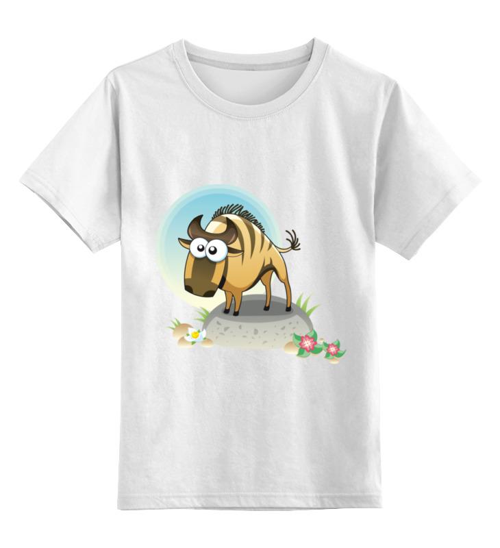 Детская футболка классическая унисекс Printio Антилопа цена и фото