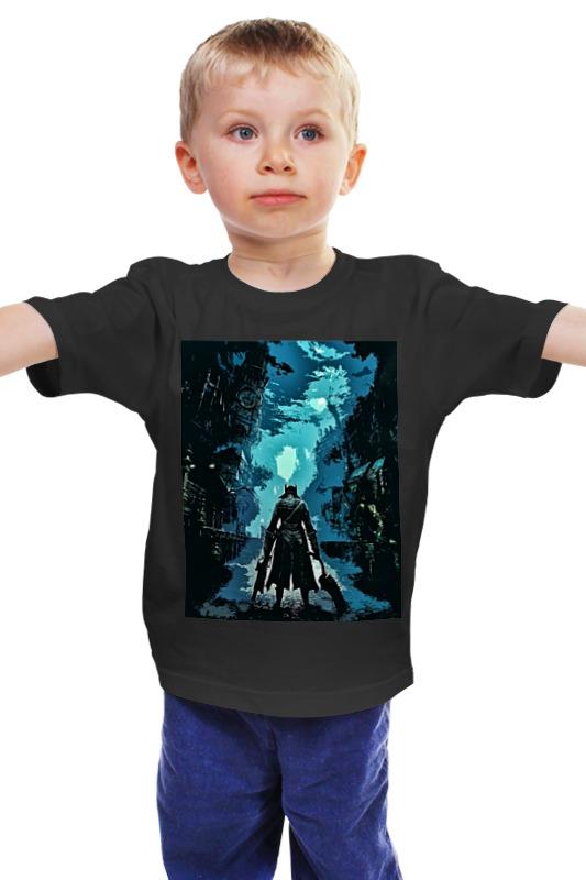 все цены на  Детская футболка классическая унисекс Printio Bloodborne  онлайн