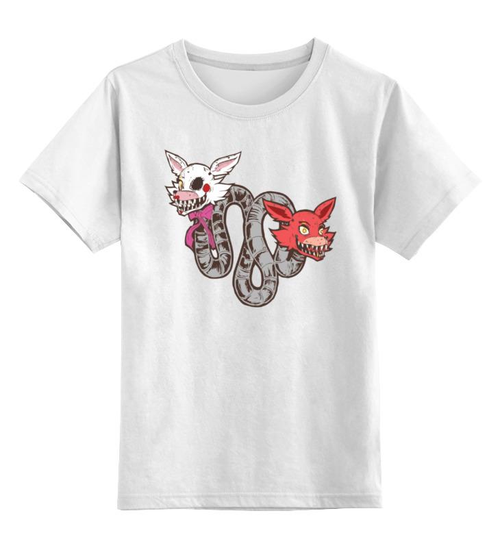 Детская футболка классическая унисекс Printio Пять ночей у фредди футболка классическая printio пять ночей у фредди