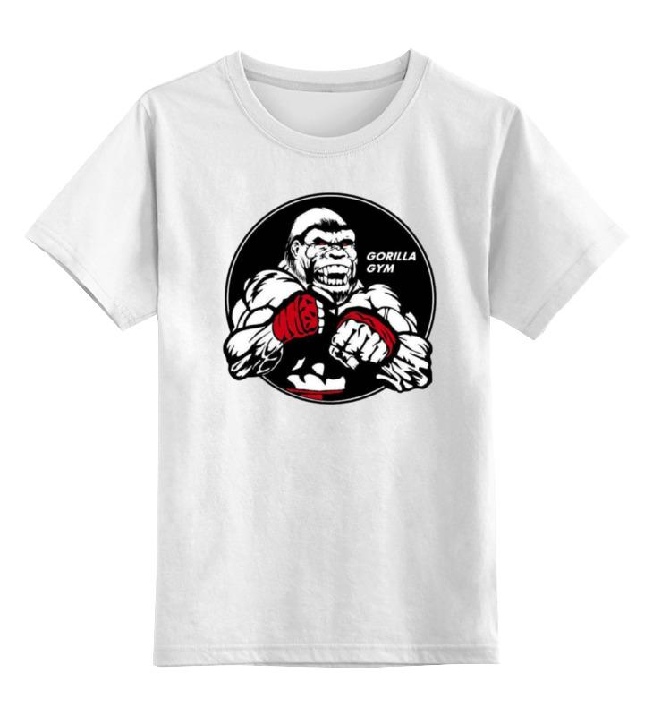 Детская футболка классическая унисекс Printio Gym - sport детская футболка классическая унисекс printio 666 gym