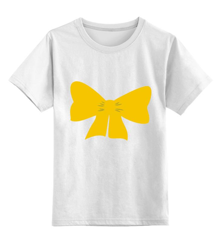 Детская футболка классическая унисекс Printio Желтый бант детская футболка классическая унисекс printio мачете