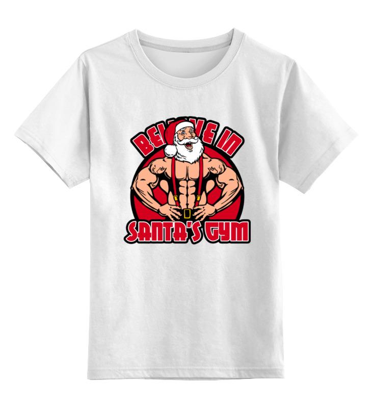 Printio Санта качок детская футболка классическая унисекс printio санта клаус