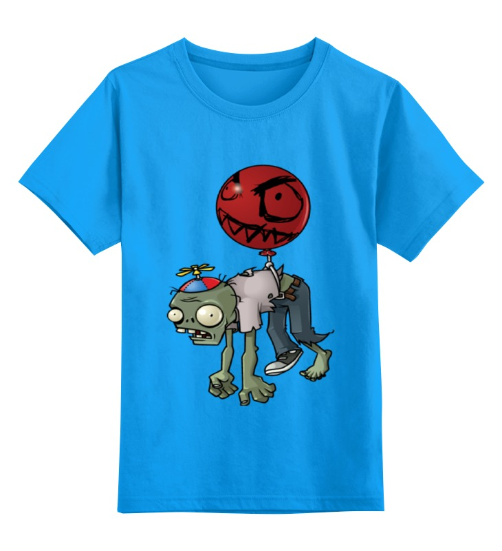 Детская футболка классическая унисекс Printio Зомби plant игрушка брелок plants vs zombies подсолнух