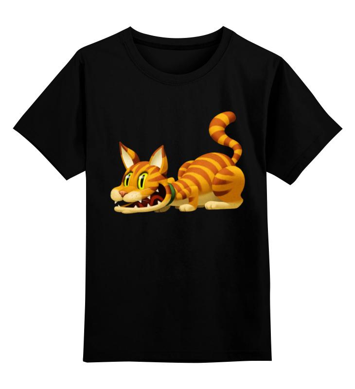 Детская футболка классическая унисекс Printio Кот гарфилд детская футболка классическая унисекс printio абстрактный кот