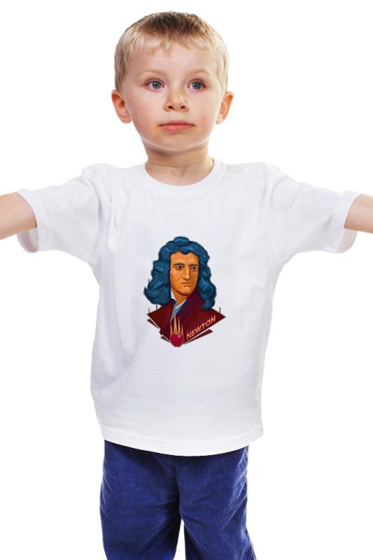 Детская футболка классическая унисекс Printio Ньютон детская футболка классическая унисекс printio мачете
