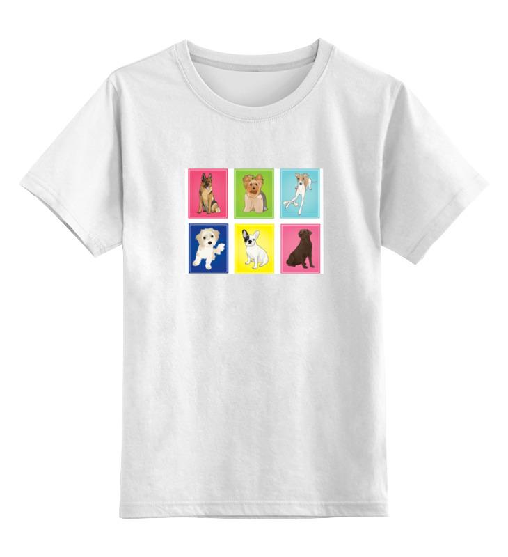 Детская футболка классическая унисекс Printio Йоркширский терьер