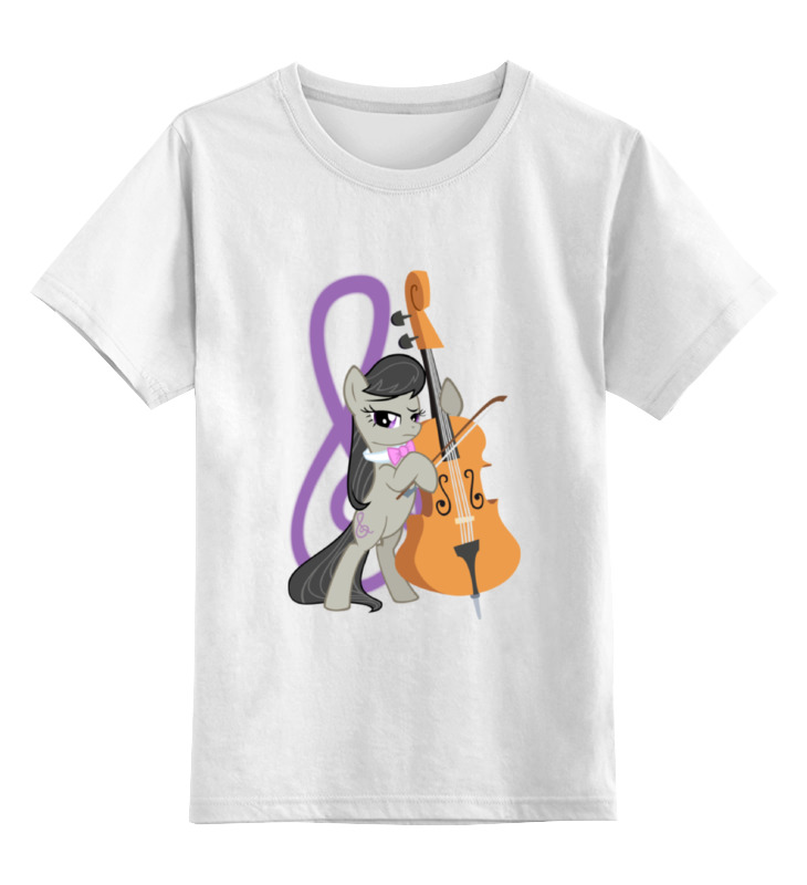 Детская футболка классическая унисекс Printio Octavia cutiemark | октавия кьютимарка