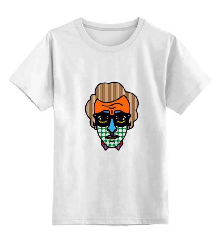 Детская футболка классическая унисекс Printio Woody allen bag woody allen and his new orleans jazz band cap roig