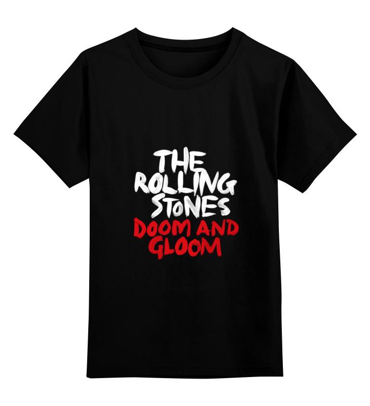 Детская футболка классическая унисекс Printio The rolling stone wear