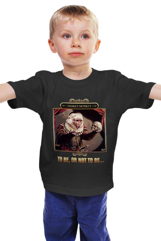 Детская футболка классическая унисекс Printio Hamlet monkey hamlet