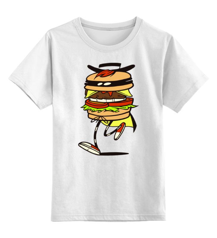 Детская футболка классическая унисекс Printio Фастфуд лонгслив printio фастфуд