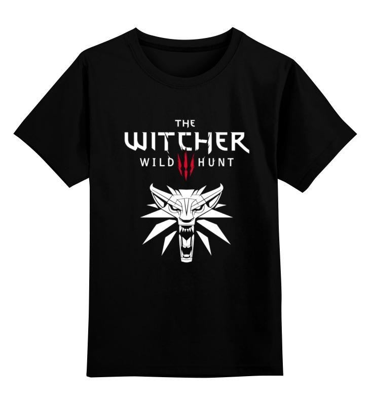 Детская футболка классическая унисекс Printio Ведьмак 3: дикая охота худи print bar the witcher 3 wild hunt