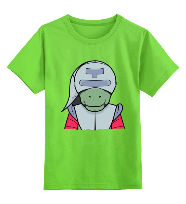 Детская футболка классическая унисекс Printio The adventures of t-rex disneyland adventures