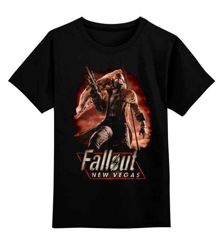 Детская футболка классическая унисекс Printio Fallout: new vegas футболка классическая printio fallout фэллаут