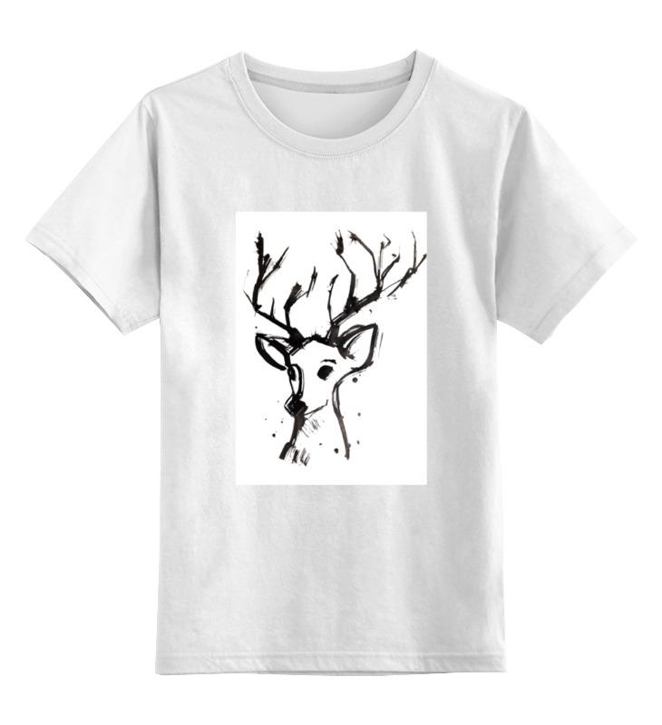 Детская футболка классическая унисекс Printio Dear deer dear john