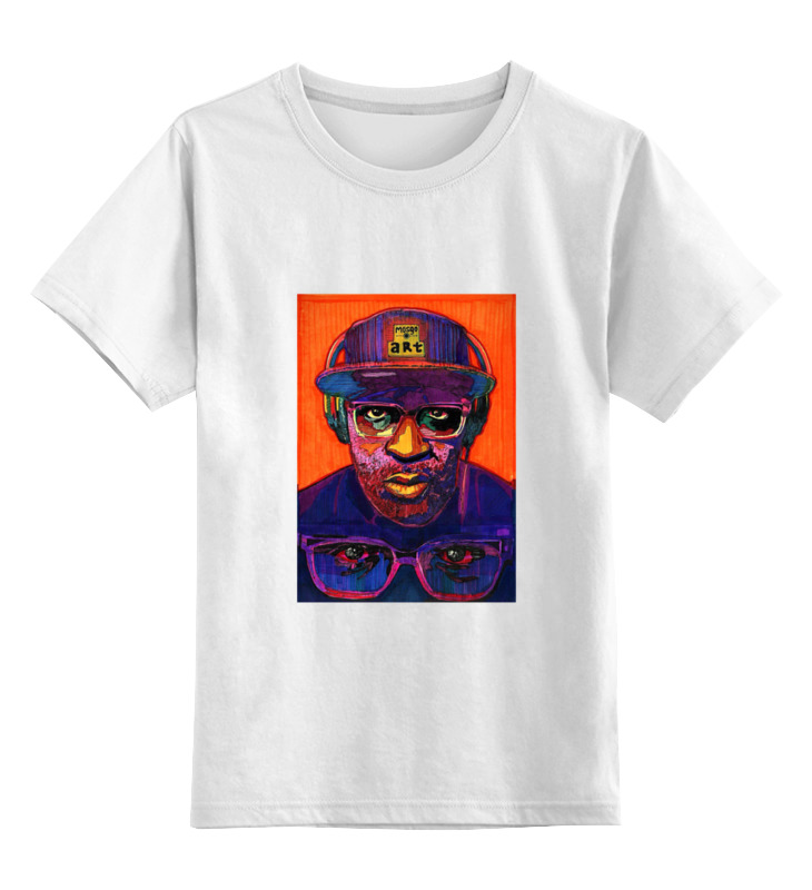 Детская футболка классическая унисекс Printio Underground3