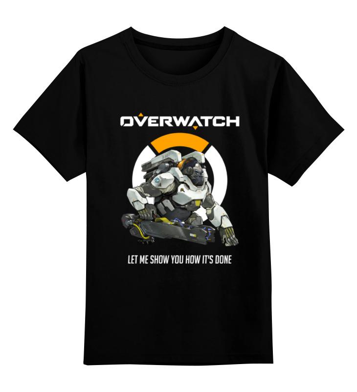Детская футболка классическая унисекс Printio Overwatch. уинстон детская футболка классическая унисекс printio мачете
