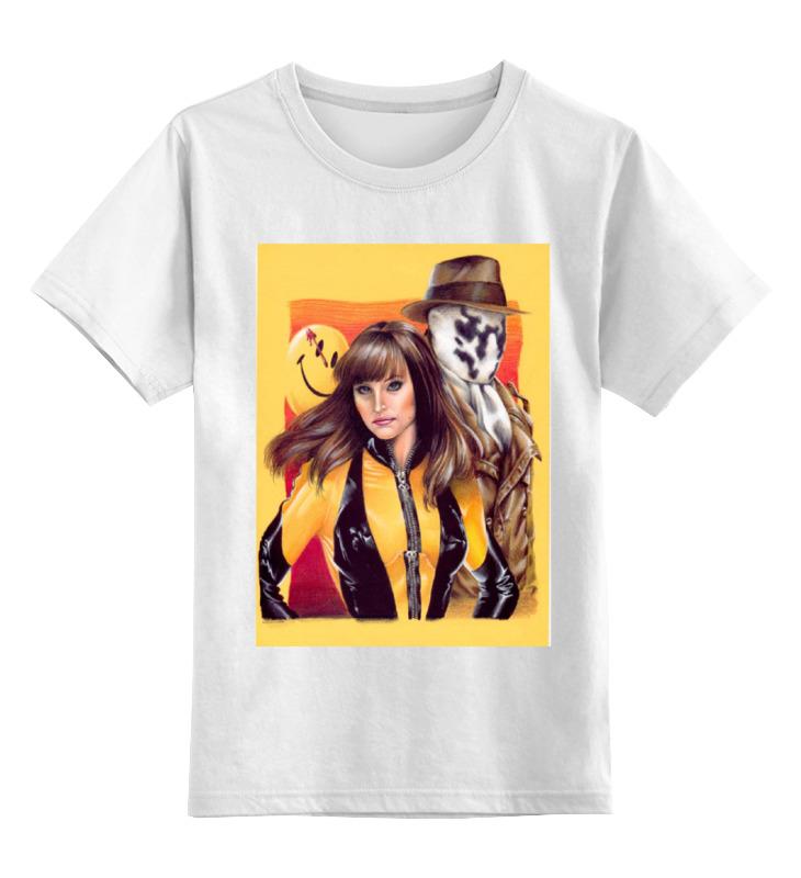 Детская футболка классическая унисекс Printio Хранители / watchmen футболка классическая printio хранители watchmen