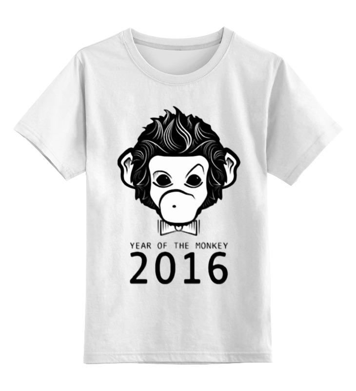 Детская футболка классическая унисекс Printio Год обезьяны детская футболка классическая унисекс printio мачете