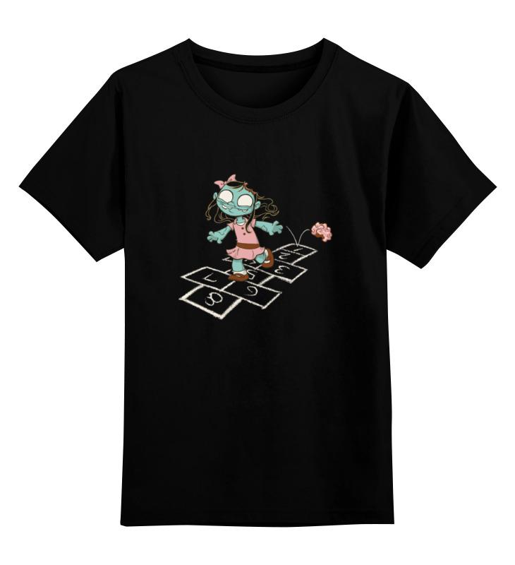 Детская футболка классическая унисекс Printio Зомби девочка детская футболка классическая унисекс printio зомби хипстеры