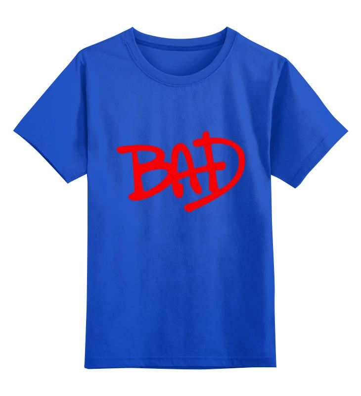Детская футболка классическая унисекс Printio Плохой футболка стрэйч printio плохой кот