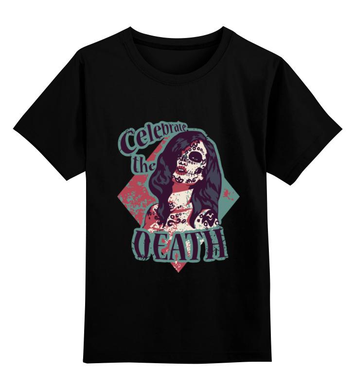 Детская футболка классическая унисекс Printio Девушка (сахарный череп) детская футболка классическая унисекс printio девушка