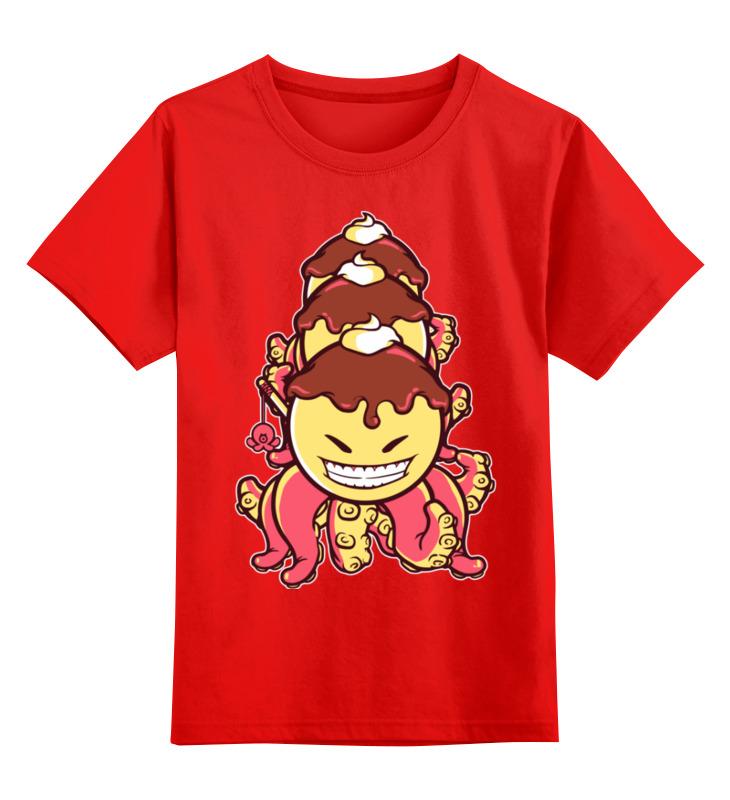 Детская футболка классическая унисекс Printio Осьминог-мороженное футболка классическая printio осьминог