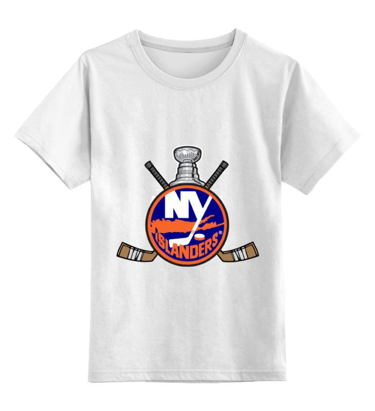 Детская футболка классическая унисекс Printio Нью-йорк айлендерс нью йорк