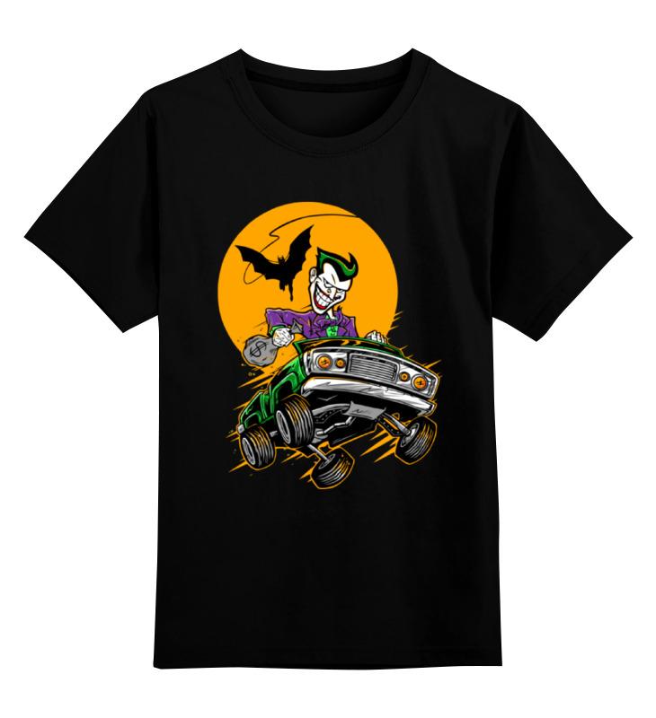 Фото - Детская футболка классическая унисекс Printio Джокер (joker) детская футболка классическая унисекс printio joker style