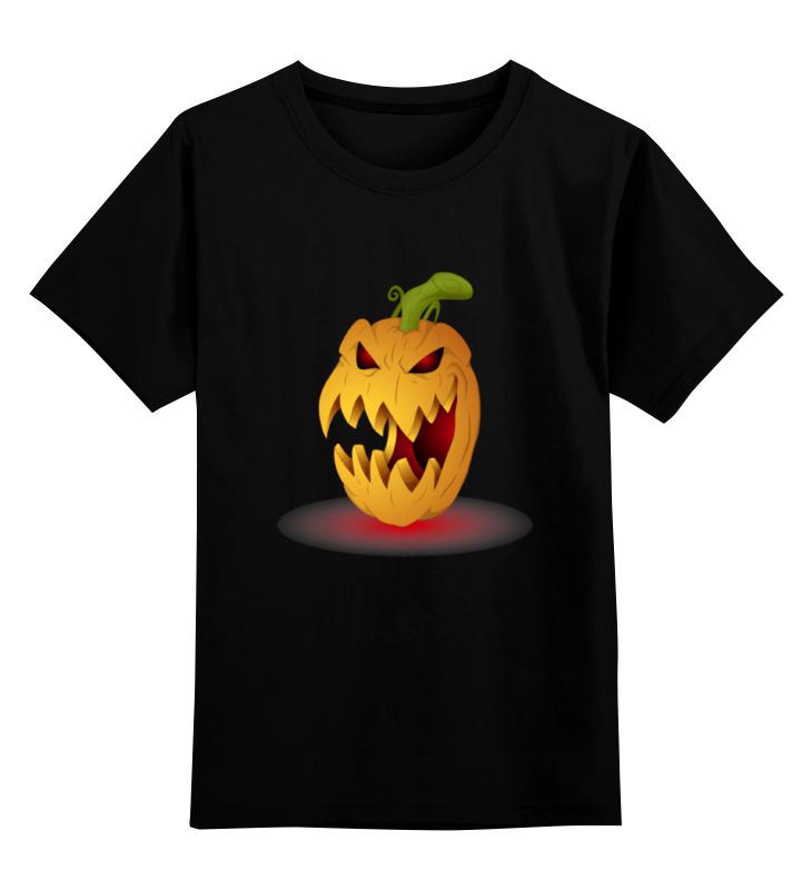 Детская футболка классическая унисекс Printio Злая тыква поиск семена тыква марсельеза