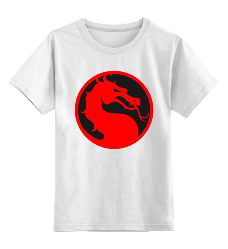 Детская футболка классическая унисекс Printio Смертельная битва битва полов