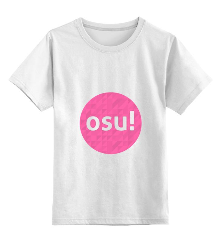 Детская футболка классическая унисекс Printio Osu! (видеоигра) видеоигра для ps4 just dance 2018