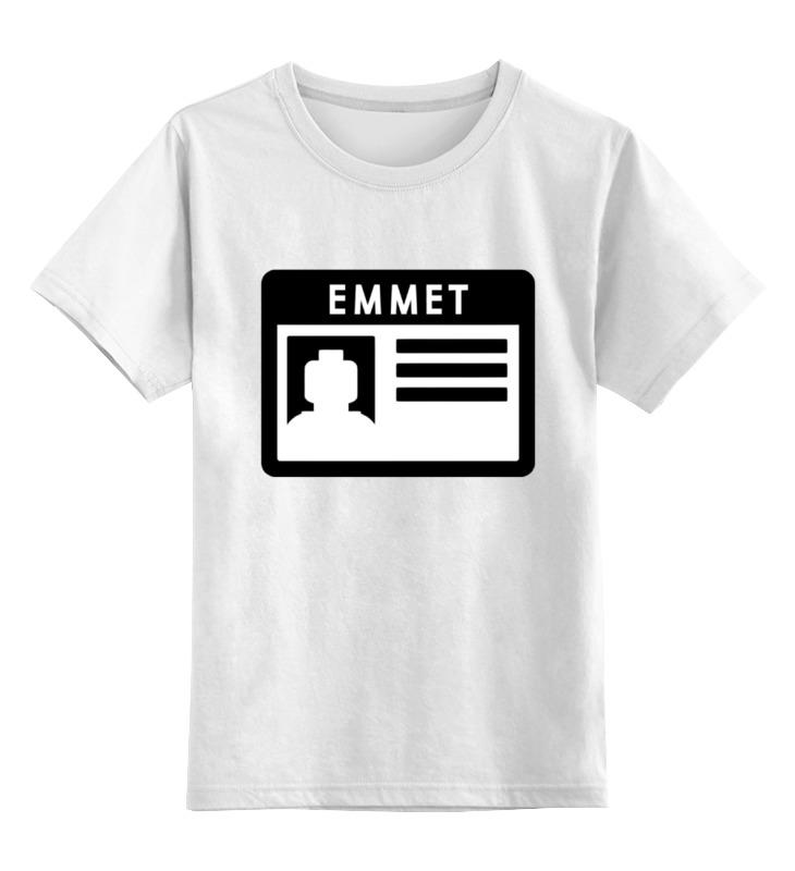 Детская футболка классическая унисекс Printio Лего пропуск детская футболка классическая унисекс printio мачете