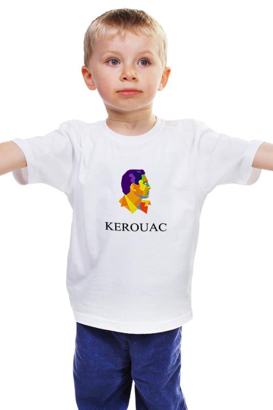 Детская футболка классическая унисекс Printio Jack kerouac