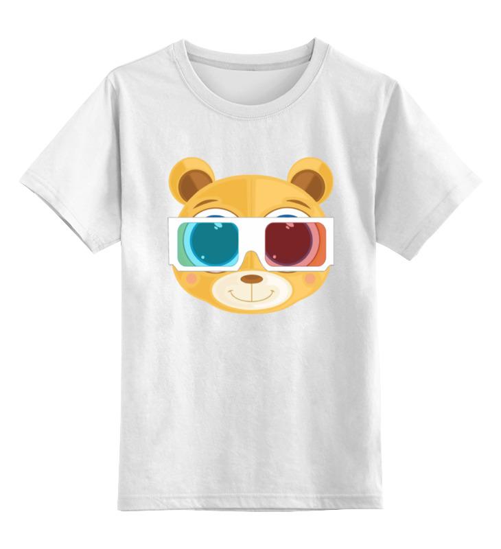 Детская футболка классическая унисекс Printio Медведь 3д футболка 3д на барабашова