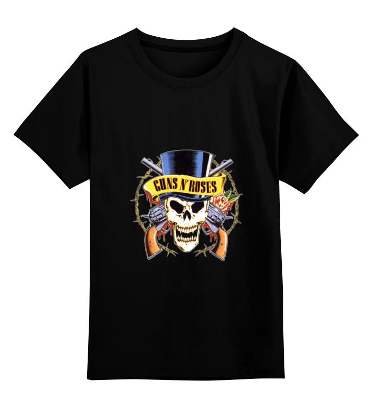 Детская футболка классическая унисекс Printio Guns'n'roses детская футболка классическая унисекс printio hamlet monkey