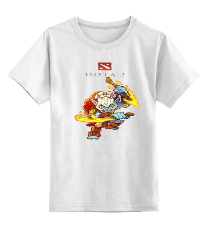 Детская футболка классическая унисекс Printio Дота 2 хускар детская футболка классическая унисекс printio классическая футболка dota 2