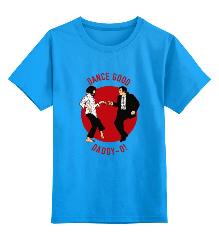 Детская футболка классическая унисекс Printio Dance good (pulp fiction)