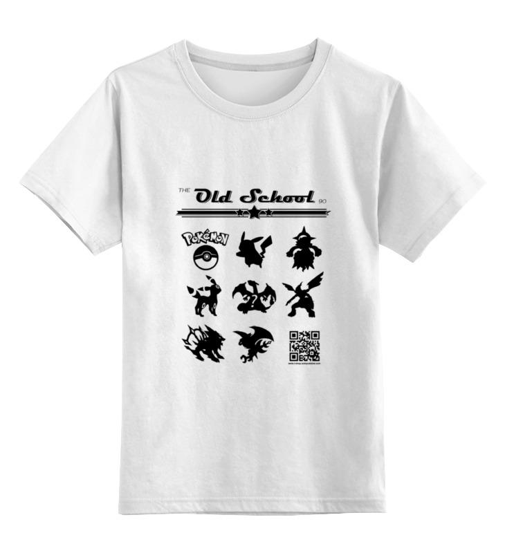 Детская футболка классическая унисекс Printio the old school 90: pokemon the little old lady in saint tropez