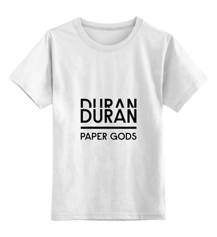 Детская футболка классическая унисекс Printio Duran duran duran брюки duran h 6126 5n бежевый белый