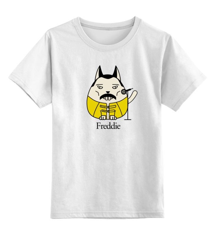 Детская футболка классическая унисекс Printio Кот меркьюри детская футболка классическая унисекс printio фредди меркьюри