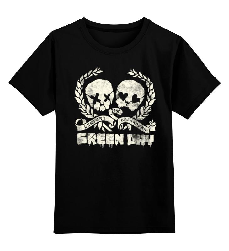 Детская футболка классическая унисекс Printio Green day футболка классическая printio every day