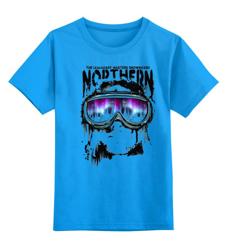 Детская футболка классическая унисекс Printio Сноубордист свитшот print bar гагарин сноубордист