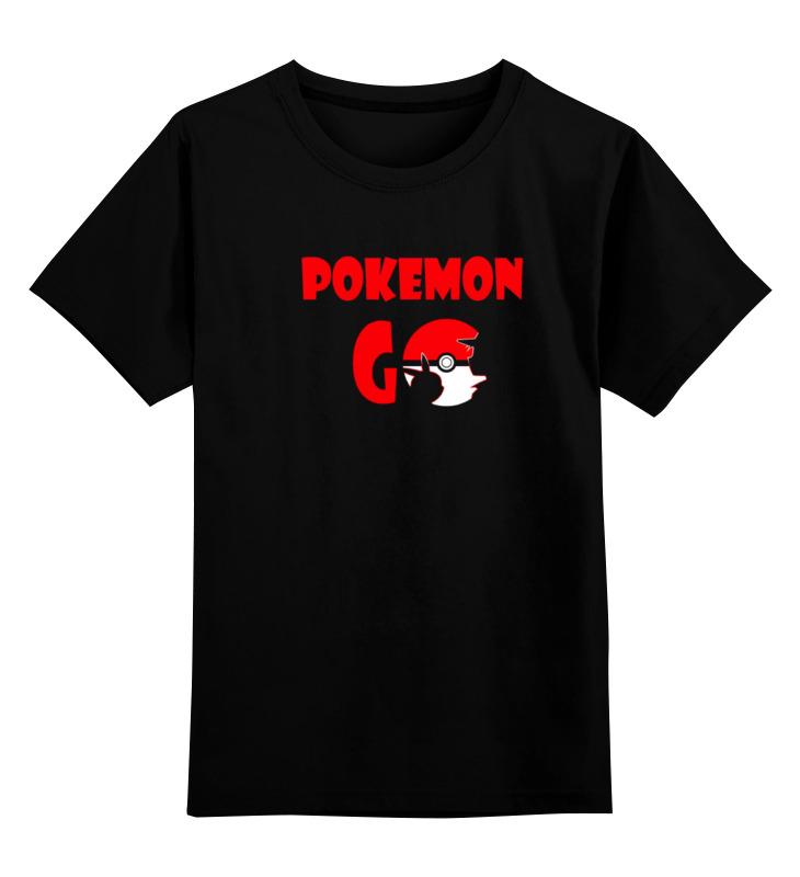 Детская футболка классическая унисекс Printio Покемоны