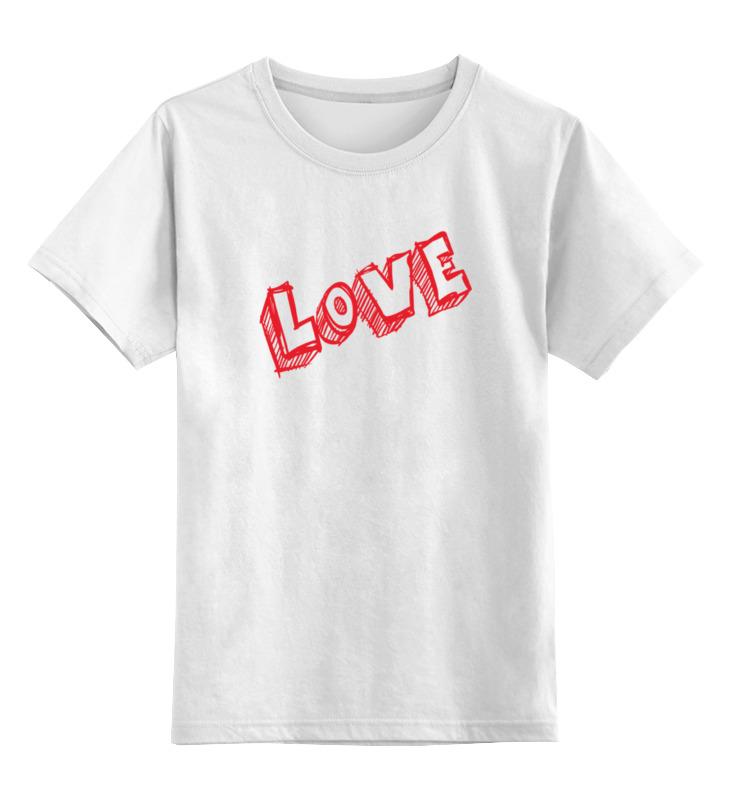 Детская футболка классическая унисекс Printio Love детская футболка классическая унисекс printio i love you beary much