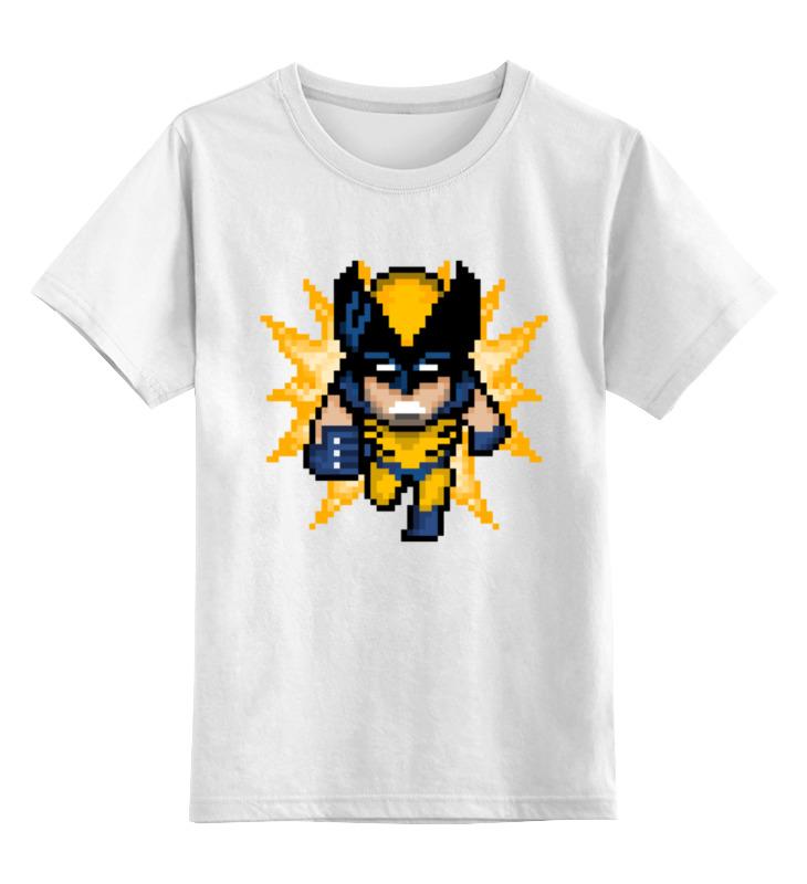 Детская футболка классическая унисекс Printio Росомаха (люди икс) футболка стрэйч printio росомаха люди икс