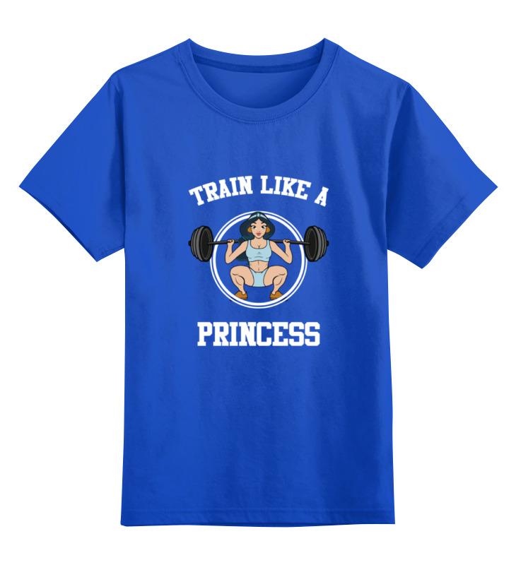 Детская футболка классическая унисекс Printio Принцесса из алладина (фитнес) цена и фото